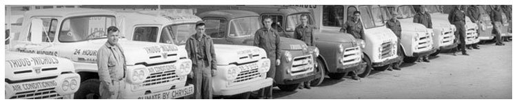 Historic Picture of Environmental Mechanical Contractors in 1945